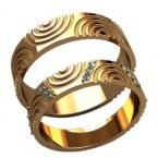 Обручальные кольца 20031