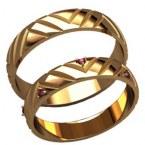 Обручальные кольца 20032
