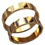 Обручальные кольца 20033