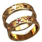 Обручальные кольца 20034