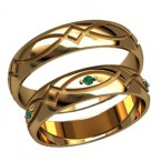 Обручальные кольца 2587
