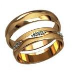 Обручальные кольца 2588