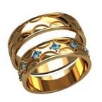 Обручальные кольца 2591