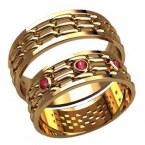 Обручальные кольца 2592