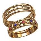 Обручальные кольца 2595