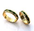 Обручальные кольца H9043