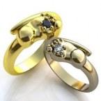 Обручальные кольца H9074