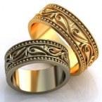 Обручальные кольца H9076