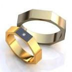 Обручальные кольца H9080