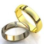 Обручальные кольца H9081