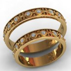 Обручальные кольца КВ-758