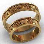 Обручальные кольца КВ-759