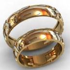 Обручальные кольца КВ-760