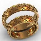 Обручальные кольца КВ-761