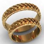 Обручальные кольца КВ-762