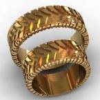Обручальные кольца КВ-763