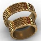 Обручальные кольца КВ-764