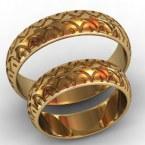 Обручальные кольца КВ-765