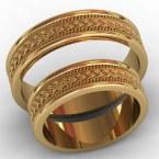 Обручальные кольца КВ-766