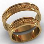 Обручальные кольца КВ-767