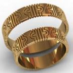 Обручальные кольца КВ-768