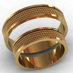 Обручальные кольца КВ-769