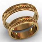 Обручальные кольца КВ-771