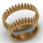 Обручальные кольца КВ-772