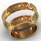 Обручальные кольца КВ-774