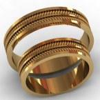 Обручальные кольца КВ-775