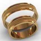 Обручальные кольца КВ-776