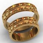 Обручальные кольца КВ-778
