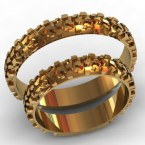 Обручальные кольца КВ-780