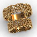Обручальные кольца КВ-786