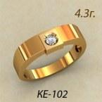 Обручальные кольца КЕ-102
