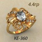 Кольцо  КЕ-00360
