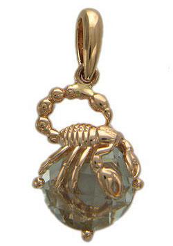 Кулон М1069 (Скорпион)