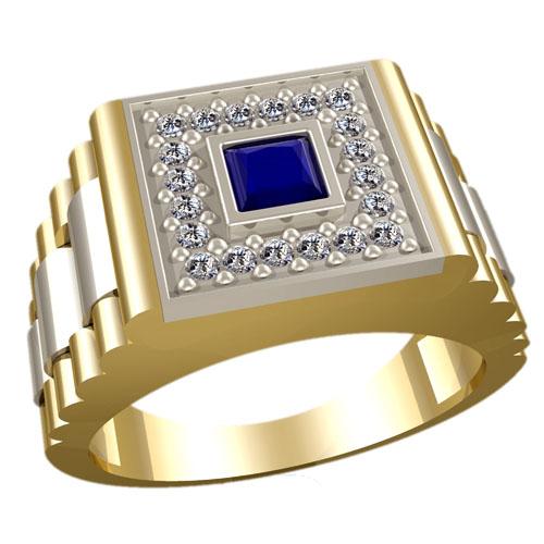 Мужское кольцо 3022
