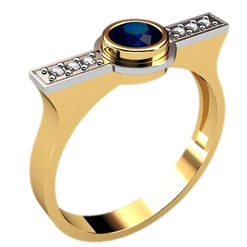 Мужское кольцо 3024