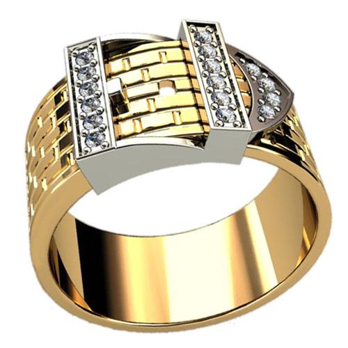 Мужское кольцо 3031