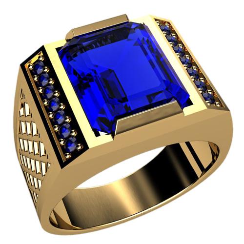 Мужское кольцо 3034