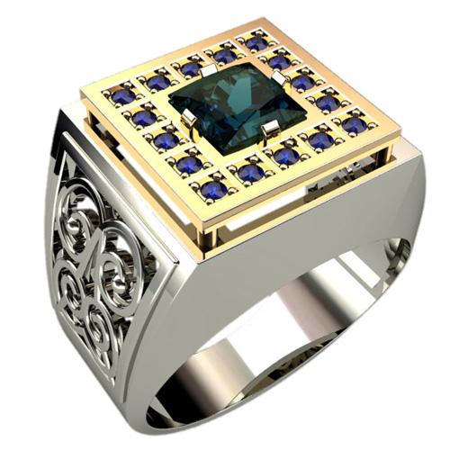 Мужское кольцо 3036