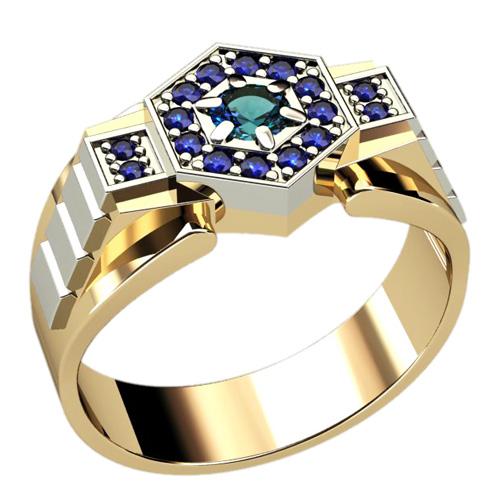 Мужское кольцо 3044