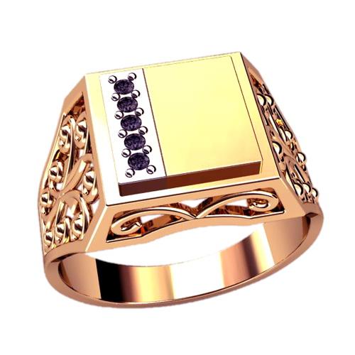 Мужское кольцо 3063