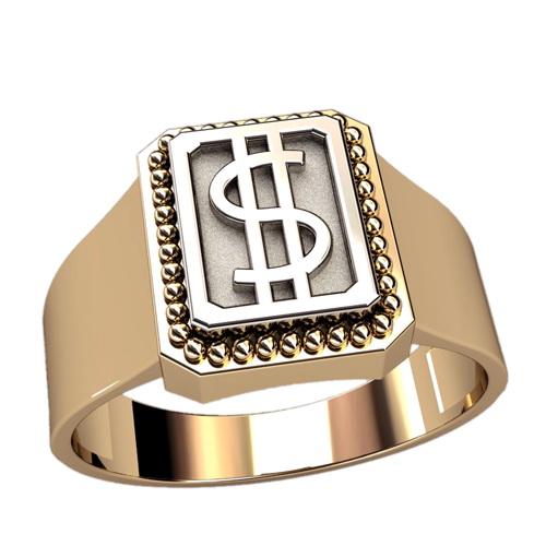 Мужское кольцо 3070