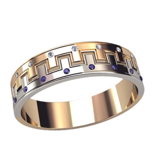 Мужское кольцо 3075