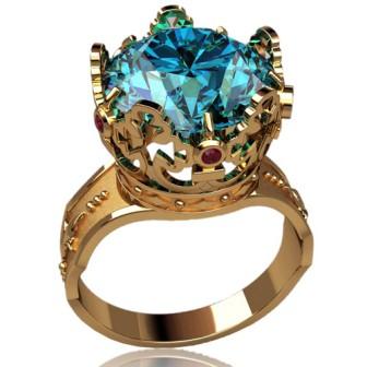 Мужское кольцо 3168
