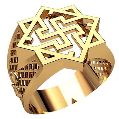 Мужское кольцо 3218