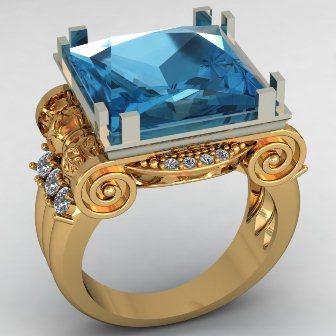 Мужское кольцо КМ-490