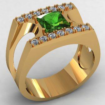Мужское кольцо КМ-498